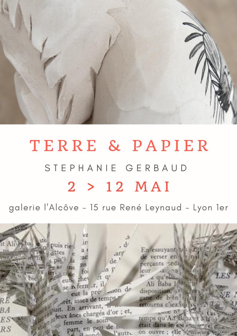 Terre et Papier, exposition Stéphanie Gerbaud