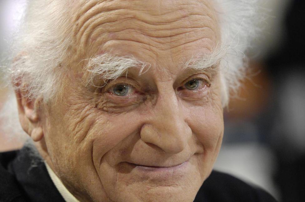 Michel Serres en 2006. Photo ® Stéphane de Sakutin. AFP 2006