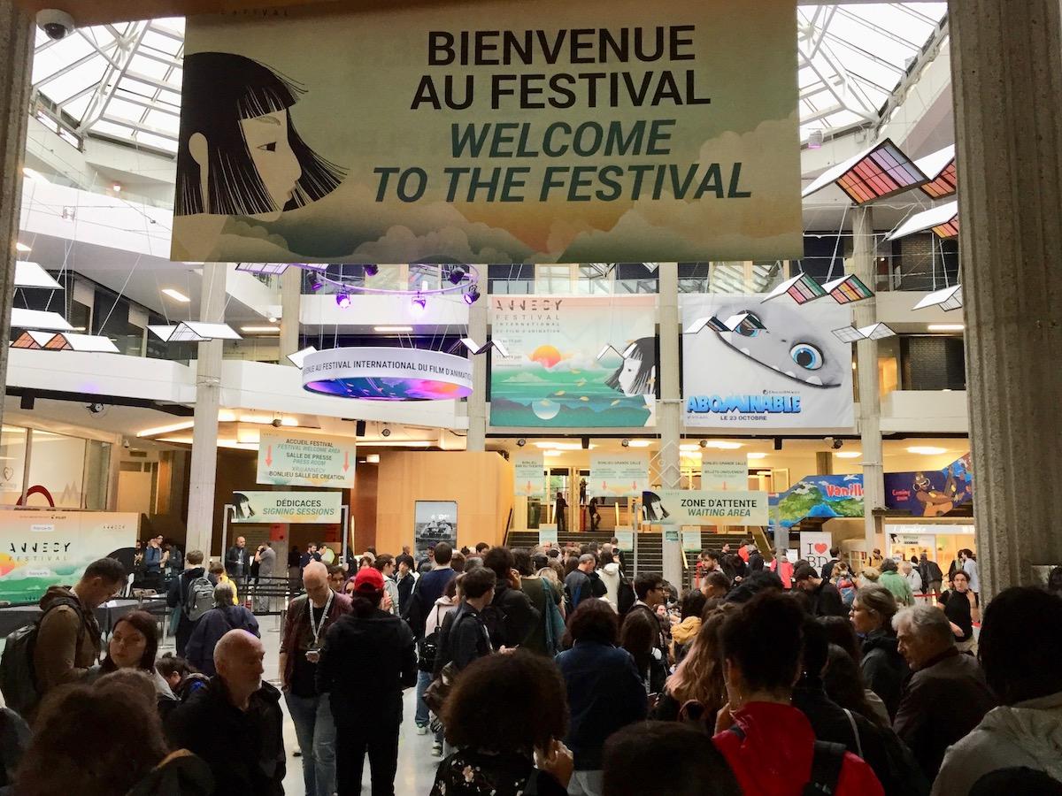 Le centre culturel de Bonlieu au rythme du Festival du Film d'Animation