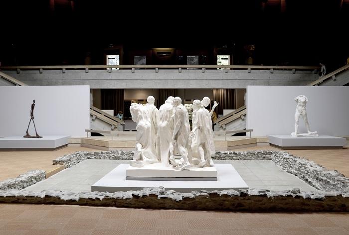 Installation à la Fondation Gianadda