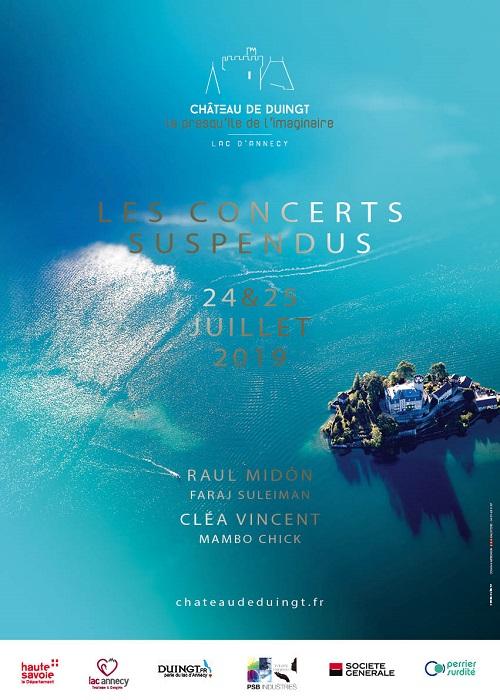 Deux soirées d'exception sur la Presqu'Île du Château de Duingt les 24 et 25 juillet 2019