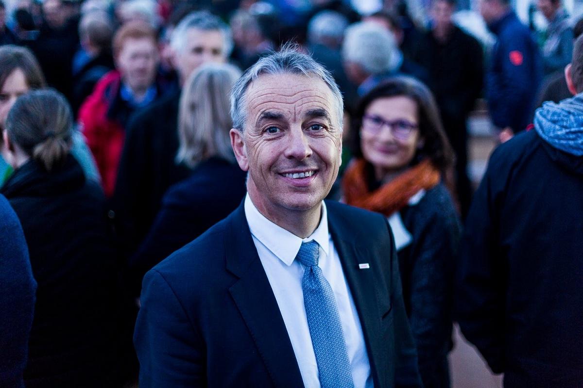 Jean-Luc Rigaut. mars 2018 © David Malacrida