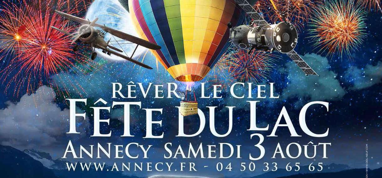 Fête du Lac d'Annecy le 3 août : embarquez pour un voyage inoubliable !