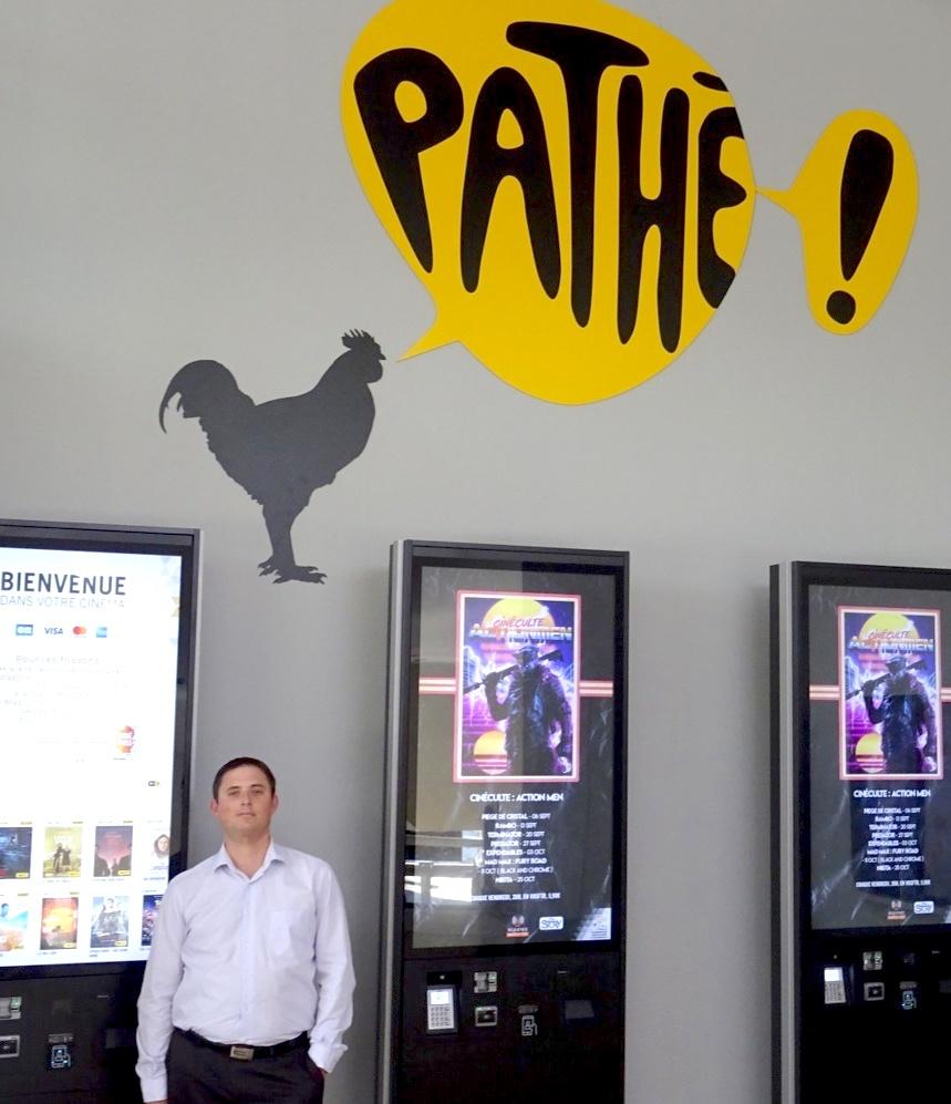 Cyrille Combier, les salles Pathé Annecy, une conception du cinéma
