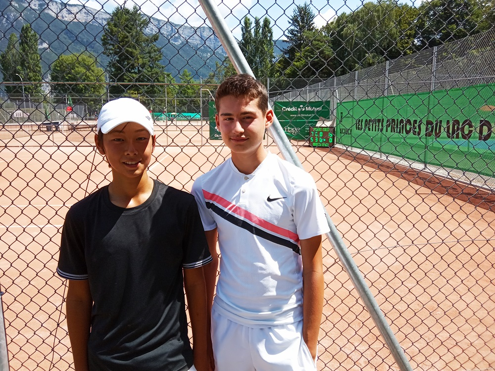 Edouard Aubert et Sam Pidoux