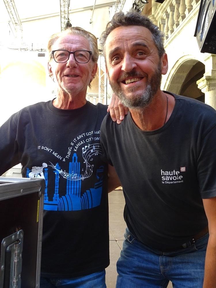 Jean-François Gojon et Pierre Sève