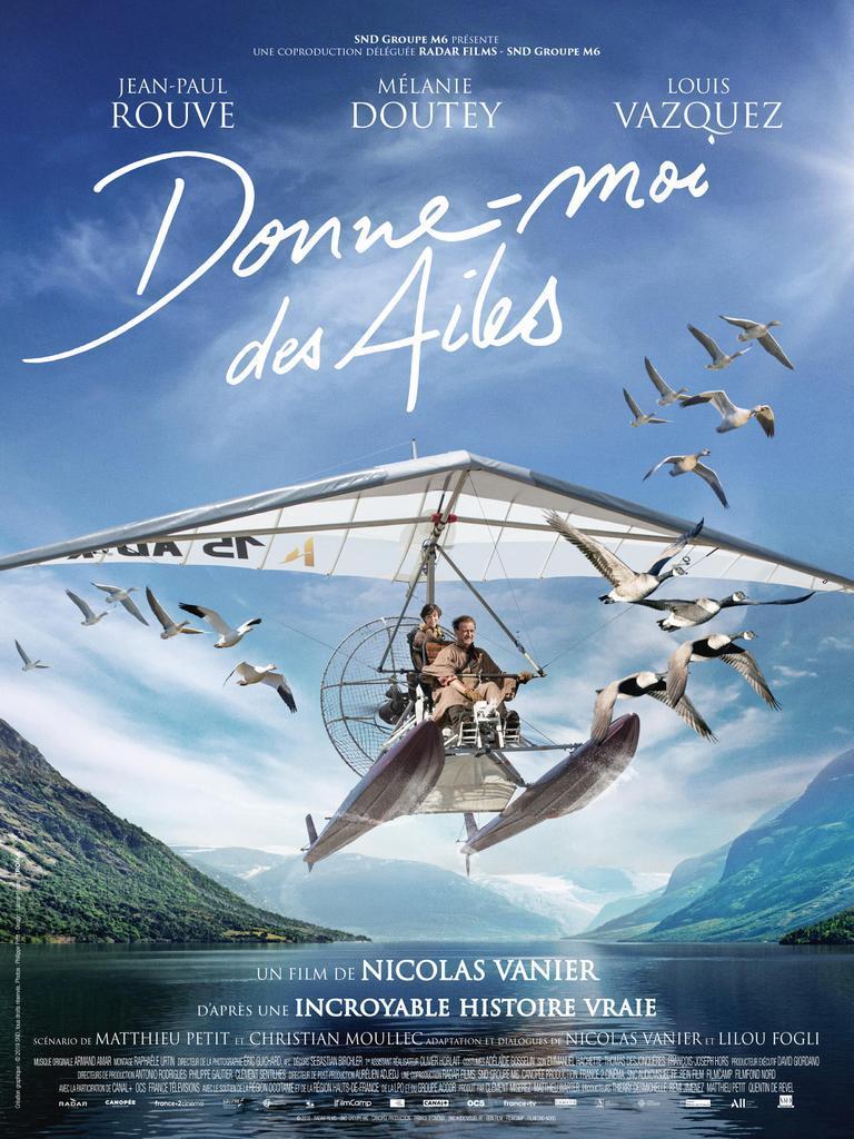 """Affiche """"Donne-moi des ailes"""" de Nicolas Vanier"""
