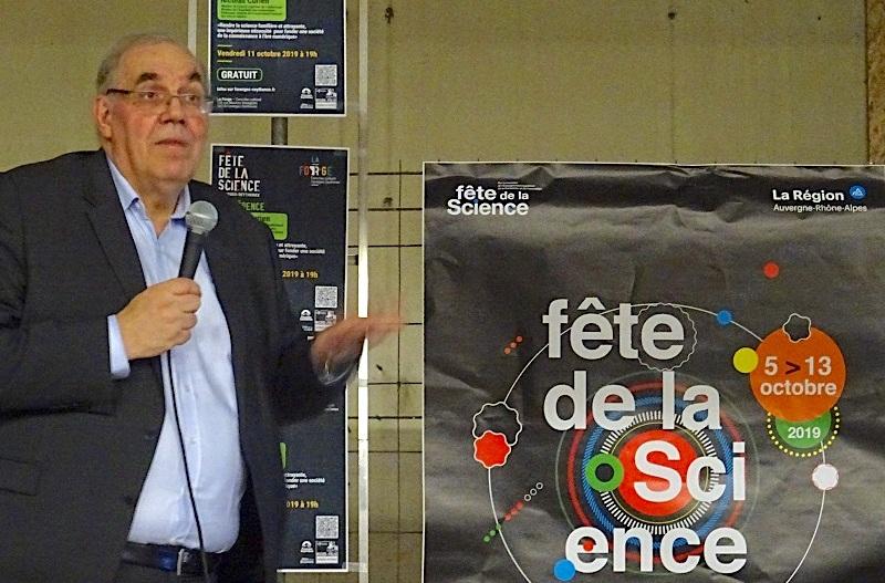 Nicolas Curien - Fête des Sciences à La Forge ©Paul Rassat