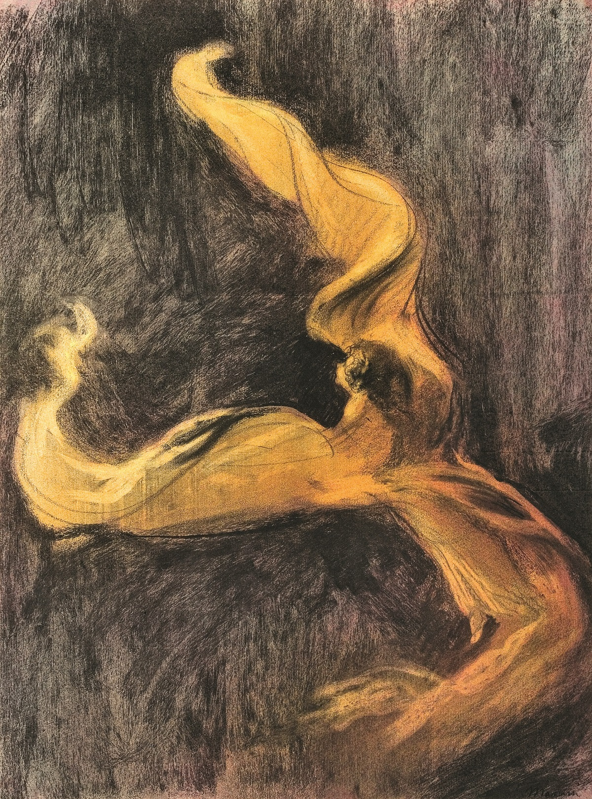 Charles Maurin. Loïe Fuller vers 1895 photo © S. Pons