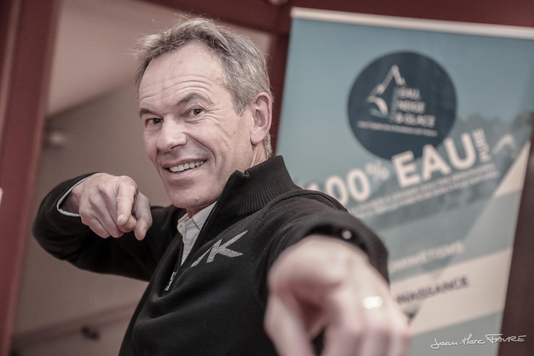 Serge Martinot, président passionné. Photo © J-Marc Favre