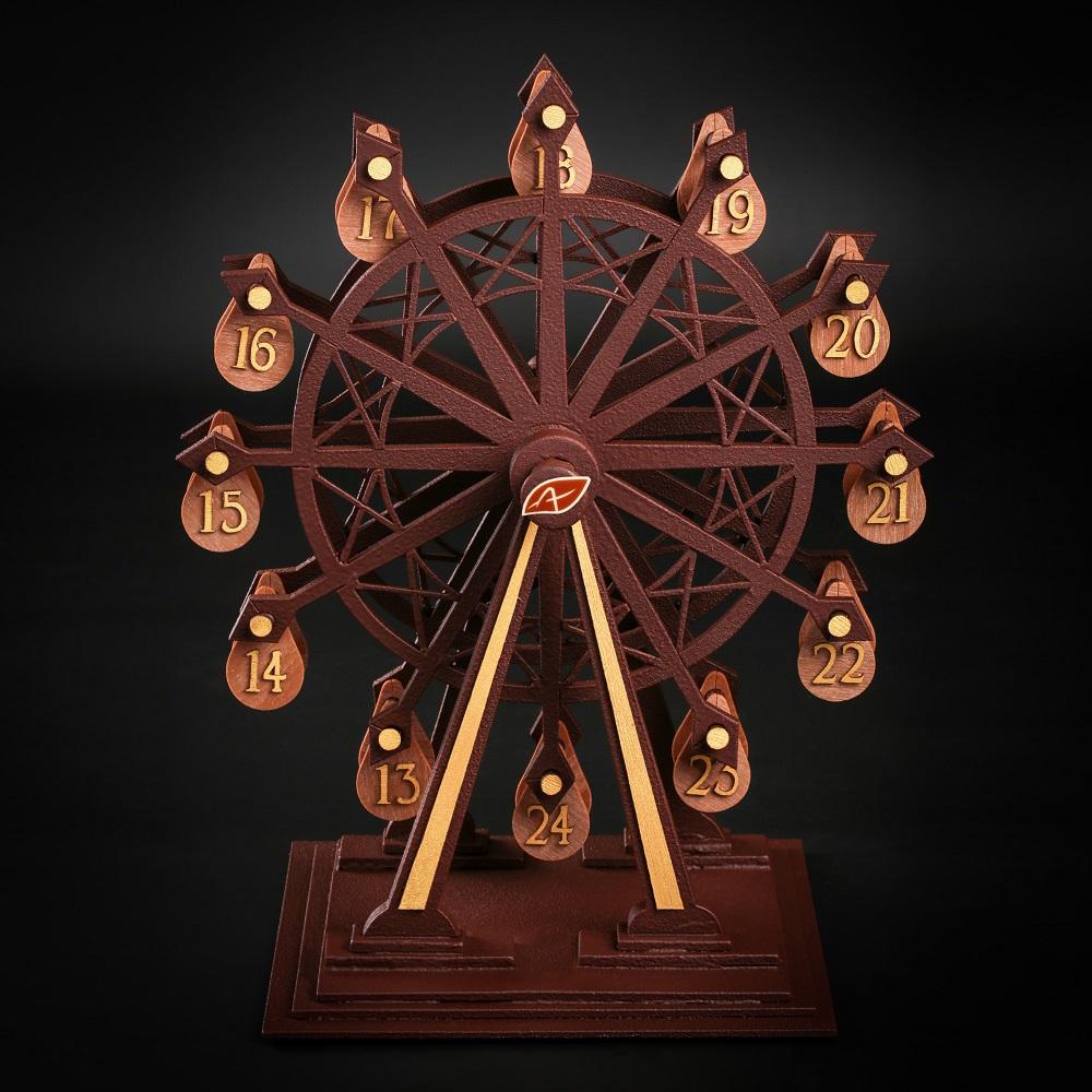 La grande roue en chocolat ©Agnellet