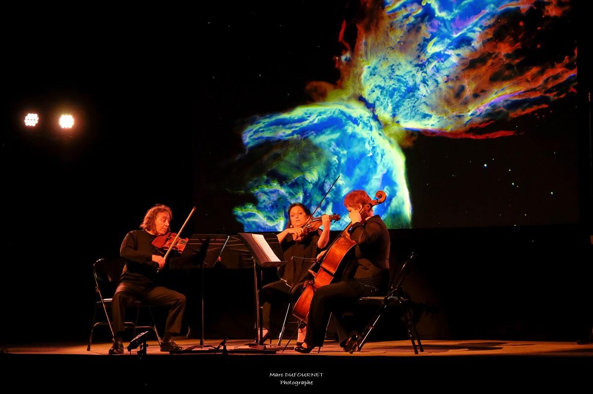 A La Forge  concert Mozart et les étoiles. Photo © Marc Dufournet