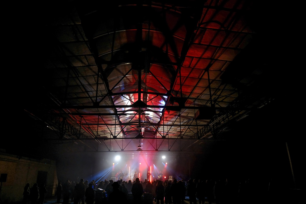 Concert La cafétéria-Roja Photo © Marc Dufournet