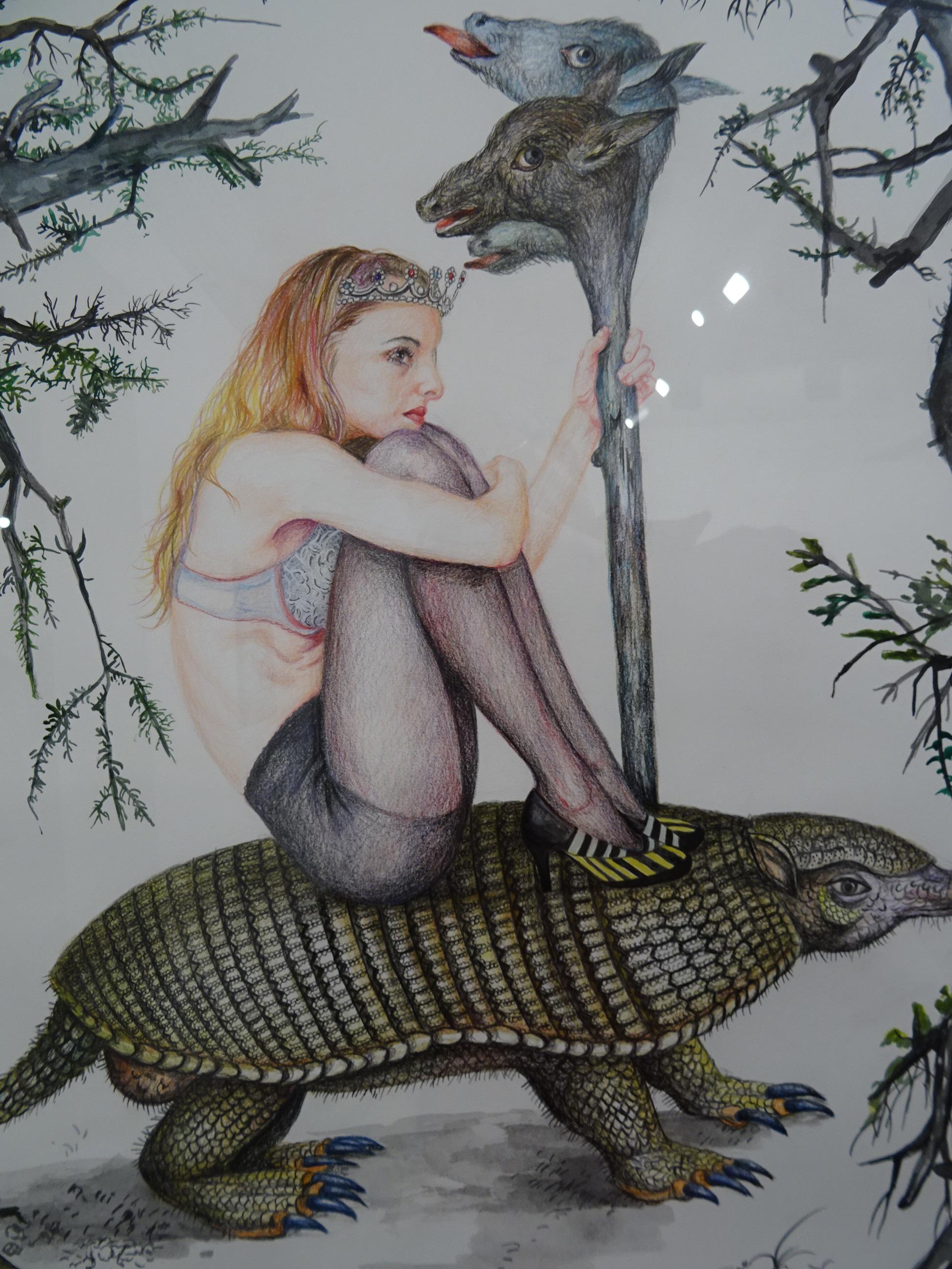 Nazanin Pouyandeh s'expose (à nu ?) à La Fabric - Annecy