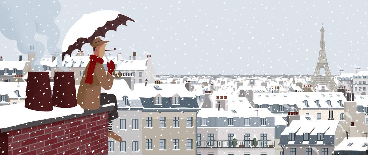 Merry Christmas Monsieur Hulot ©David Merveille