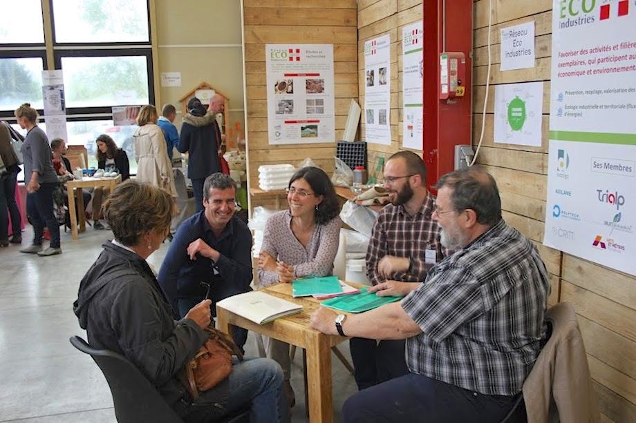 Stand Réseau Eco-Industrie - 1° édition ©Solucir