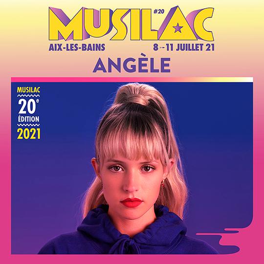 Angèle sera présent en 2021 à Musilac ©DR
