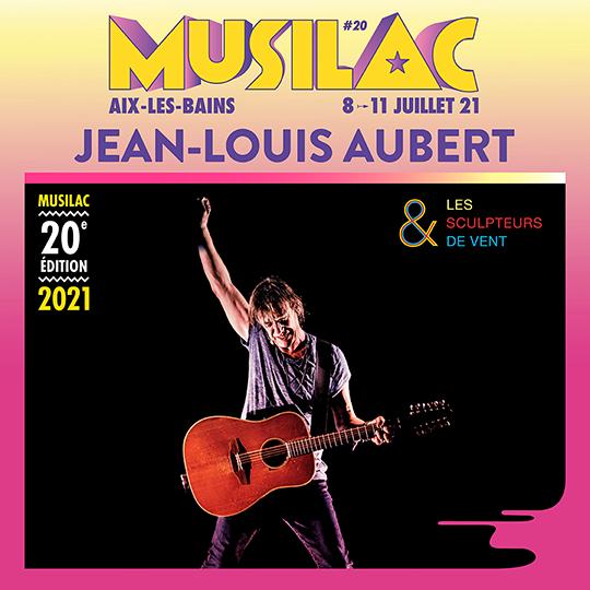 Jean-Louis Aubert sera présent en 2021 à Musilac ©DR