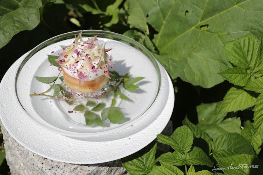 De la nature dans l'assiette à la Bouitte ©J-Marc Favre