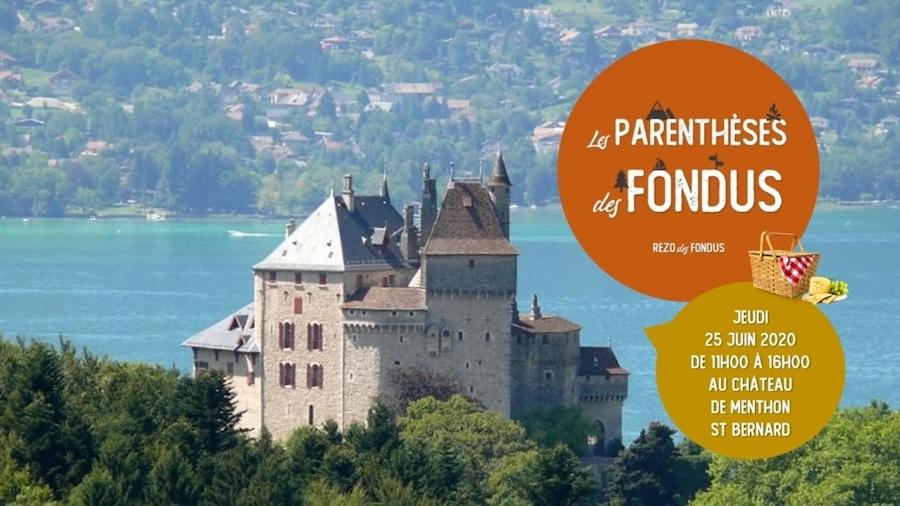 Parenthèses du Rezo des Fondus les 25 juin et 2 juillet au Château de Menthon Saint-Bernard (74) ©DR