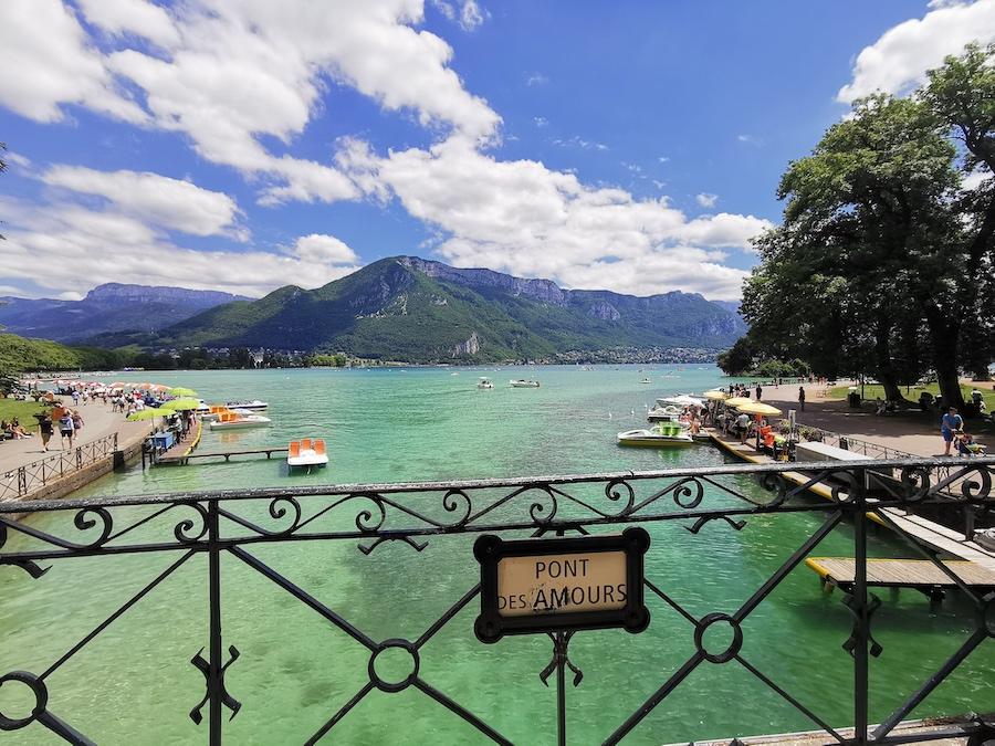 Le Pont des Amours à Annecy ©DR