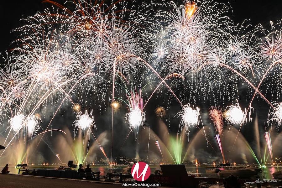 La fête du lac d'Annecy et ses feux d'artifices ©DR