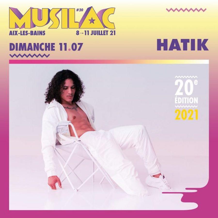 Hatik sera présent à la 20° édition du festival Musilac ©DR