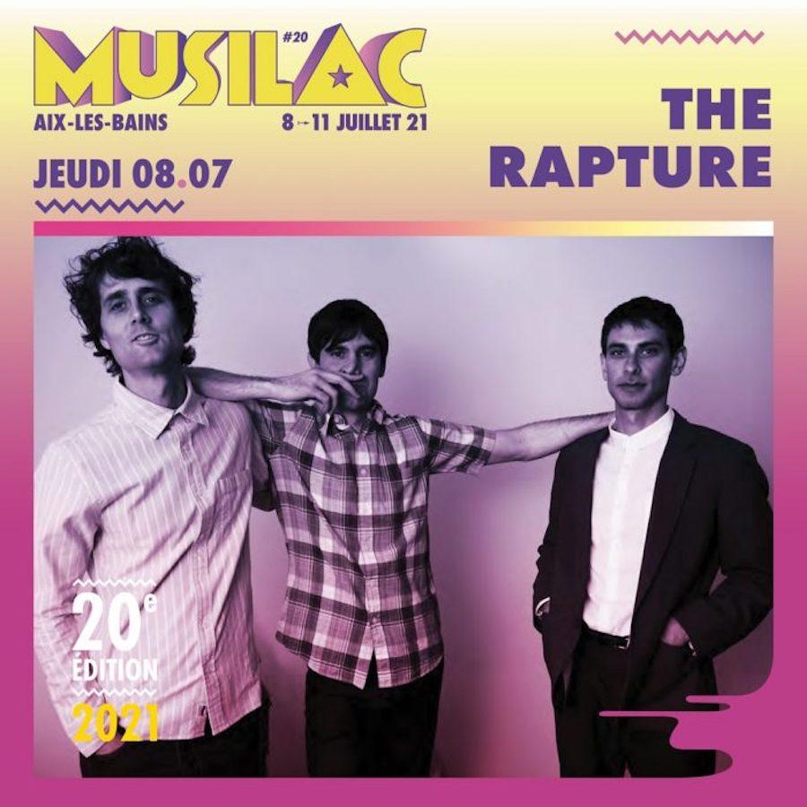 Le groupe The Rature sera présent au festival Musilac 2021 ©DR