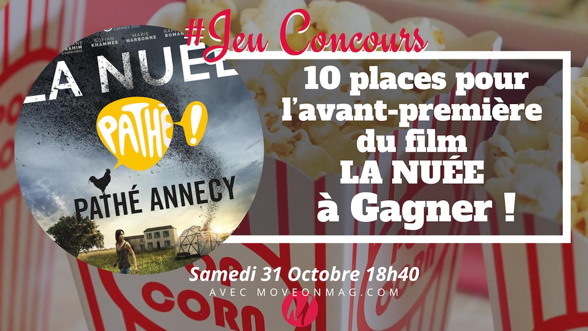 #JEUCONCOURS / 10 places pour l'avant-première LA NUÉE le samedi 31 Octobre 2020