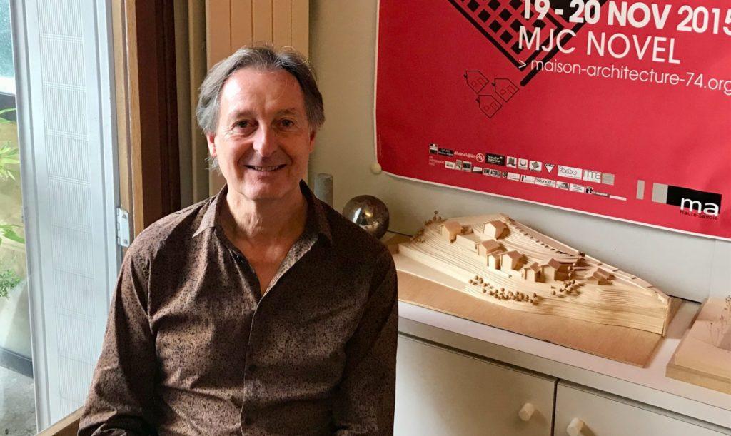 José Villot Président du Festival du film d'archietcture d'Annecy