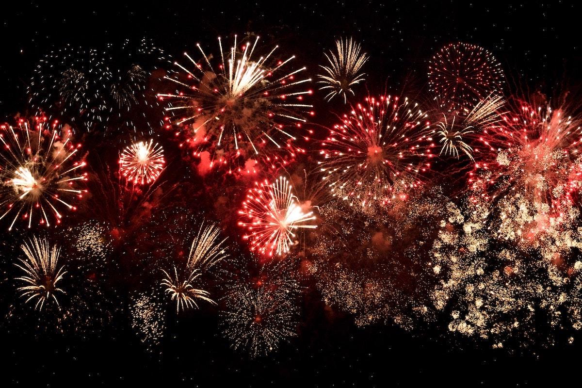 Les feux d'artifices du 31 décembre dans les 2 Savoie ©pexels