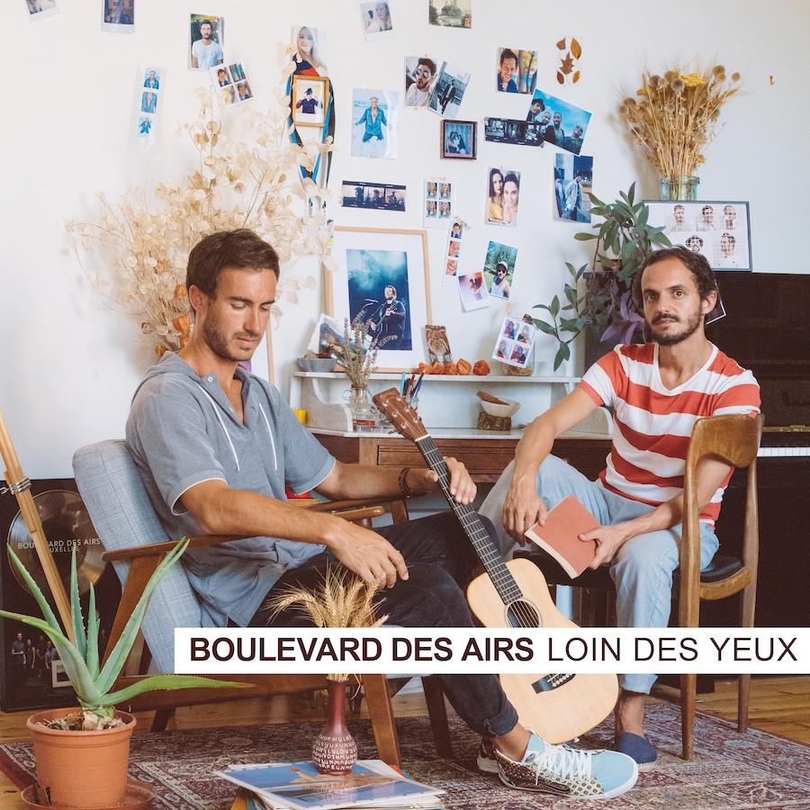 Pochette album - Boulevard des Airs ©