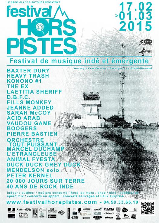 Festival Hors Pistes / Point Musique : L'Etrangleuse / Ven 27 Fév.