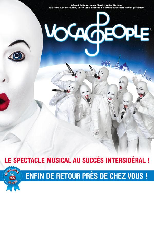 """A GAGNER, 2 Places de Spectacle pour """"Voca People"""" à Annecy / Jeu 26 Fév."""
