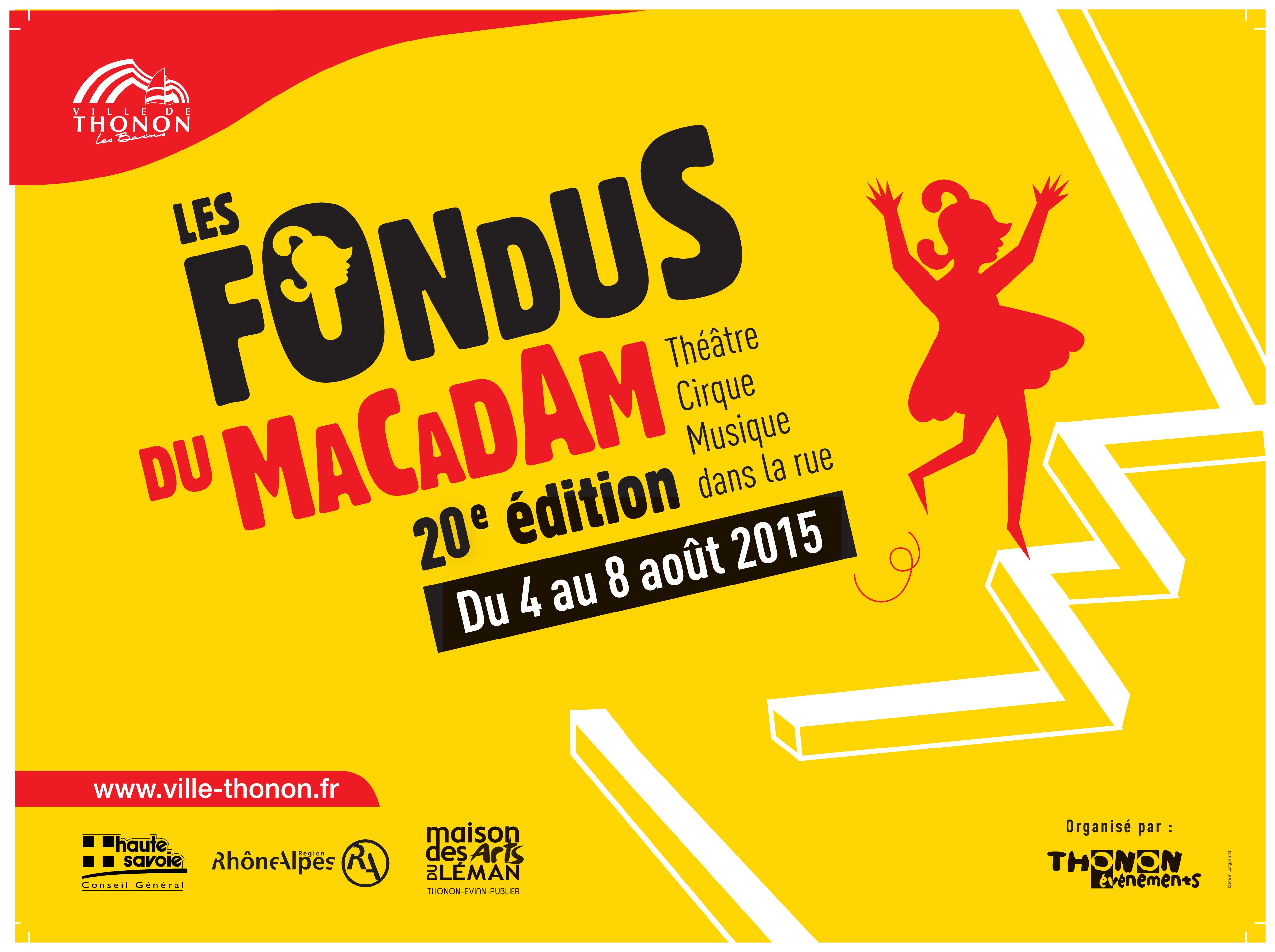 LES FONDUS DU MACADAM FETENT LEURS 20 ANS!