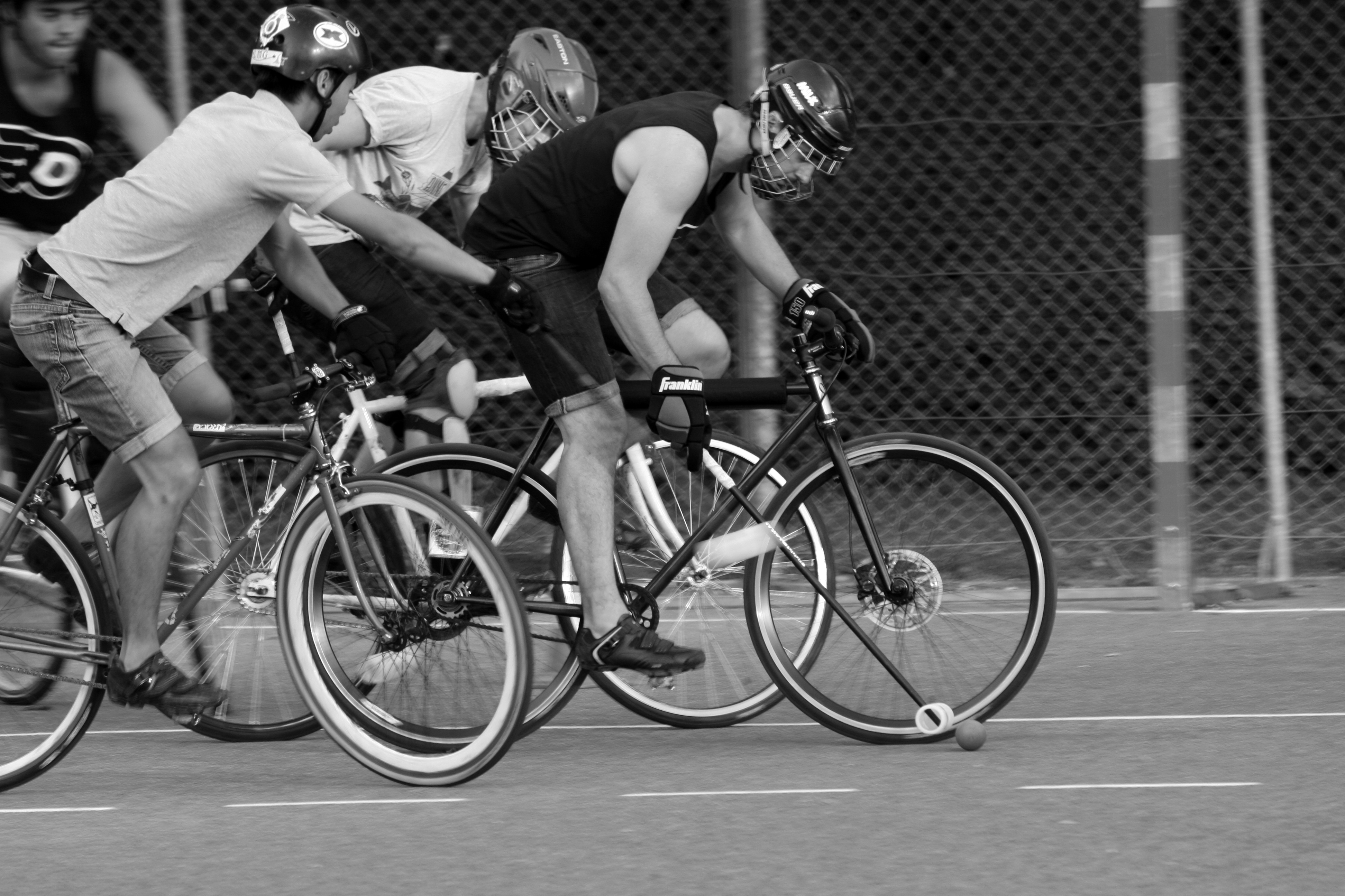 Bike Polo, 27/28 Juin à Annecy, 3ème tournoi du Brochet d'Or