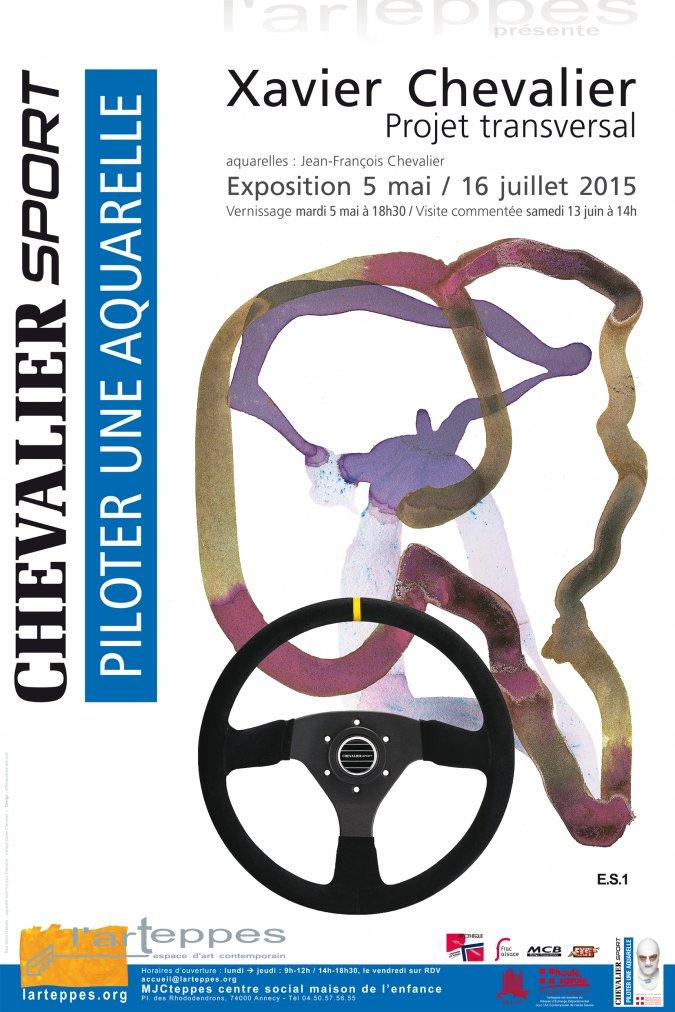 Exposition Xavier Chevalier à l'Arteppes jusqu'au 16 juillet