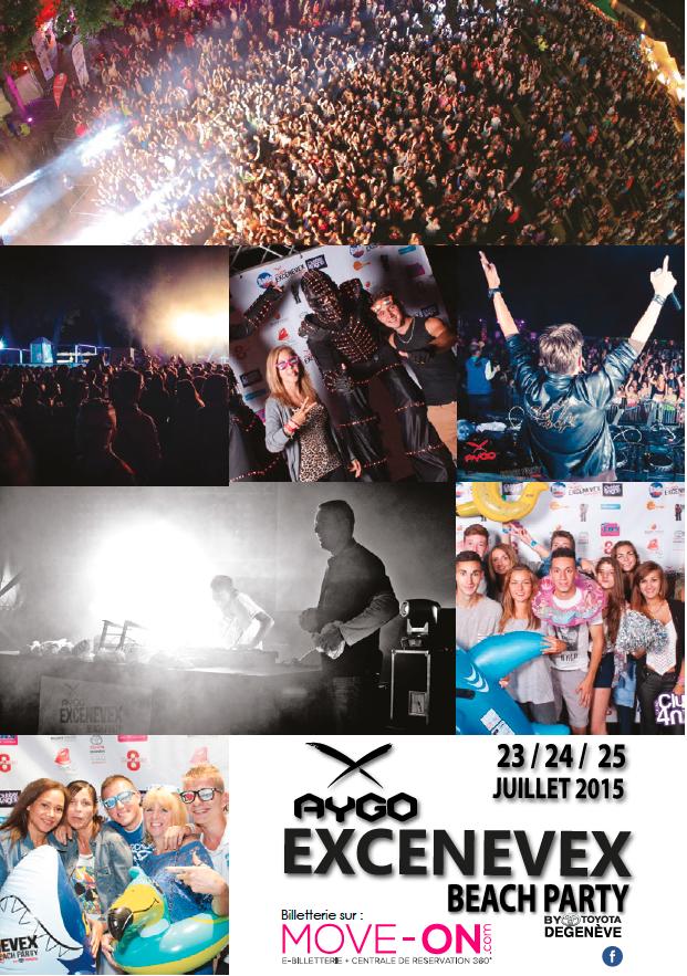 Entretien avec Laurent Païs - EXCENEVEX BEACH Party - Du 23 au 25 JUILLET 2015