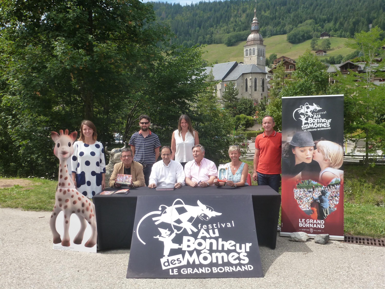 Au Bonheur des Mômes : 24ème édition du 23 au 28 août 2015. Sophie La Girafe s'associe au festival!
