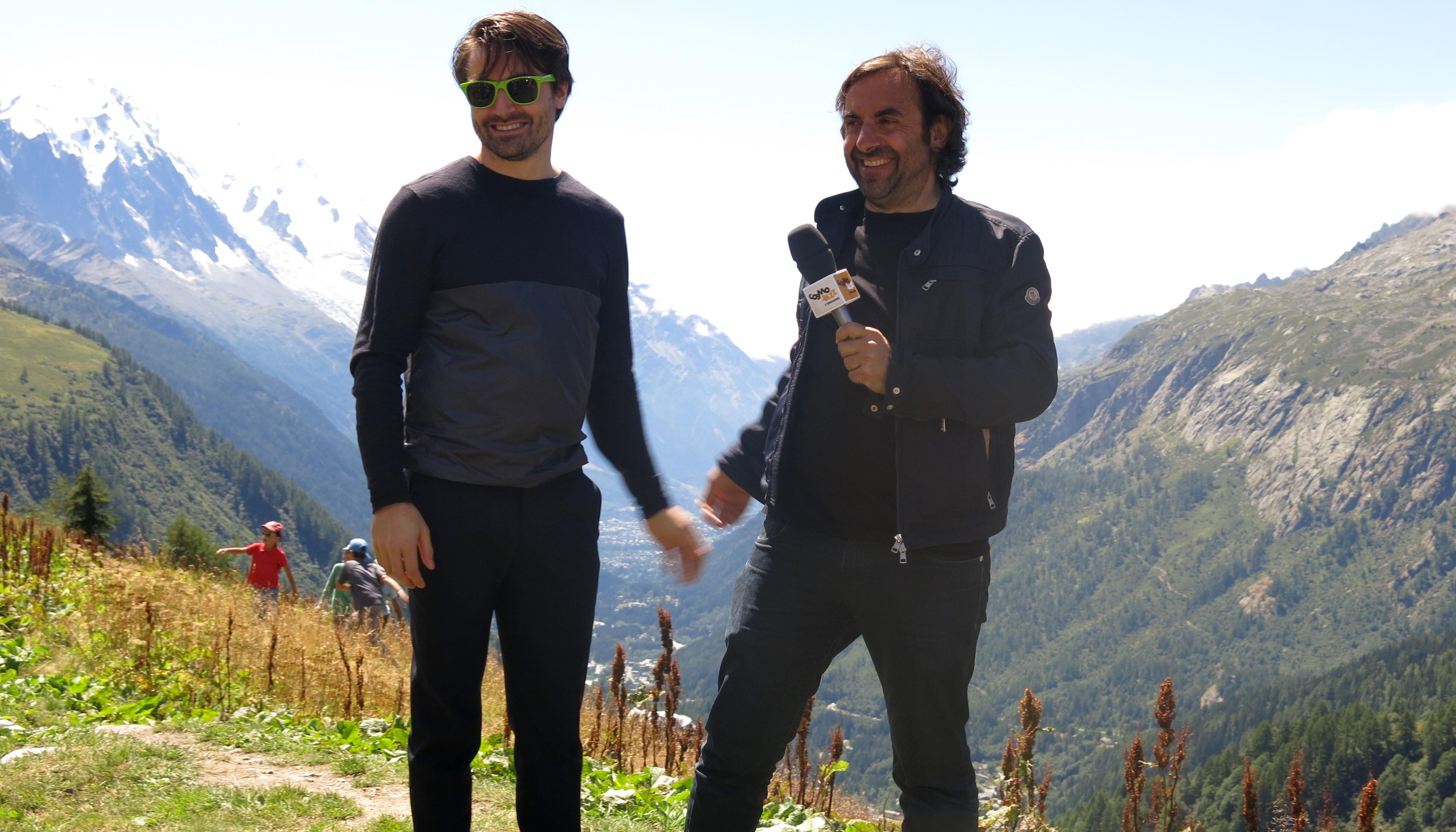 André manoukian avec Dan Tepfer au CosmoJazz (photo Jacques Bayol)