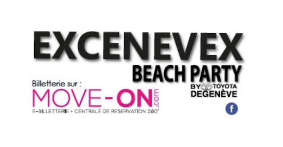 Excenevex Beach Party