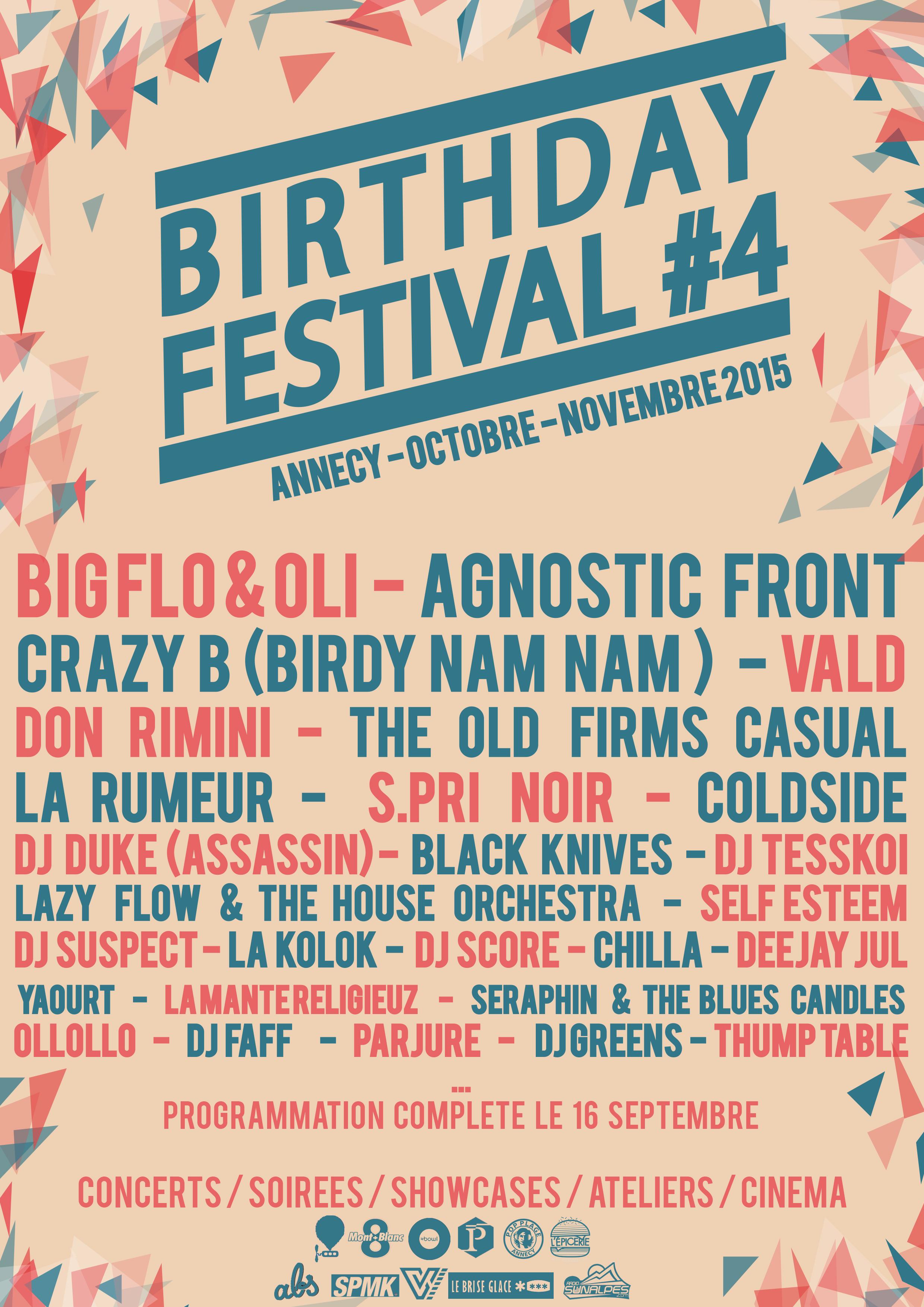 Les platines de Crazy B vont chauffer au Birthday Festival !