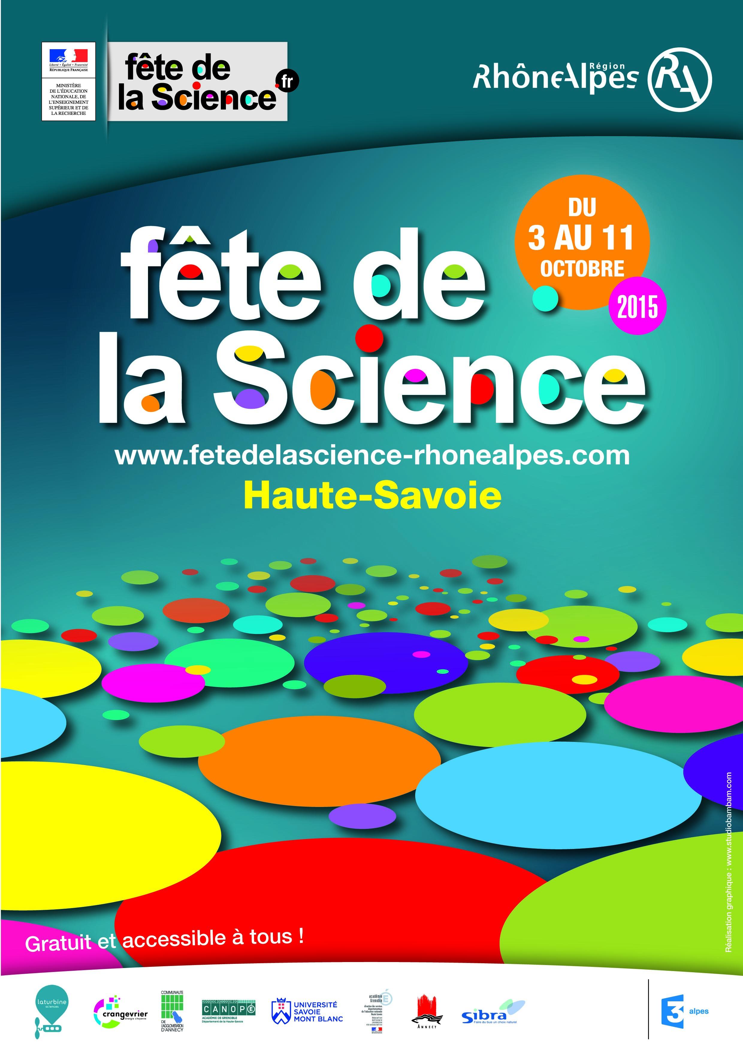 La fête de la science, pour faire les apprentis sorcier ! Du 3 au 11 oct. 2015
