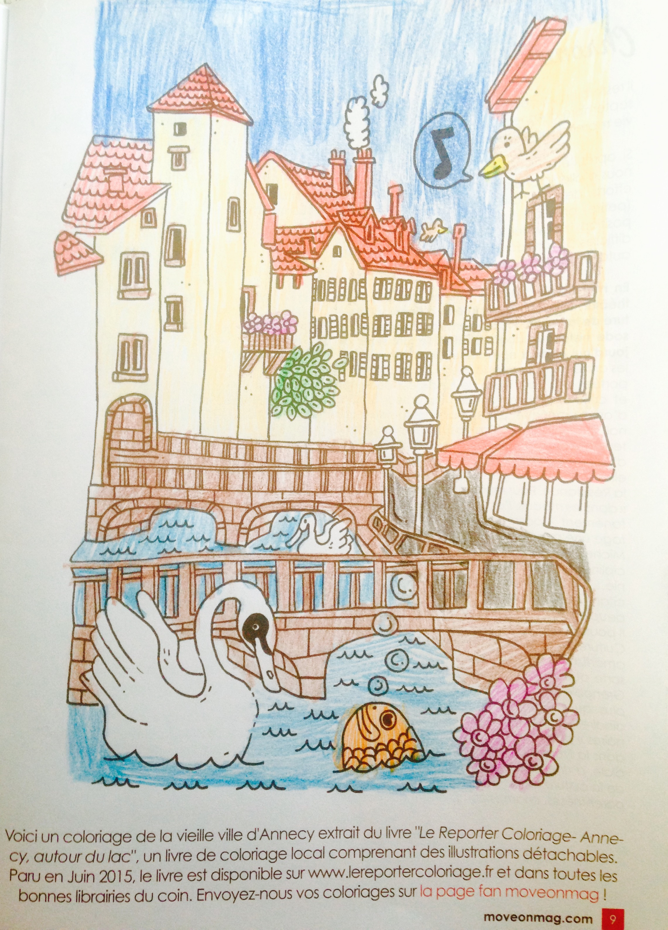 Annecy, selon Jana Roux