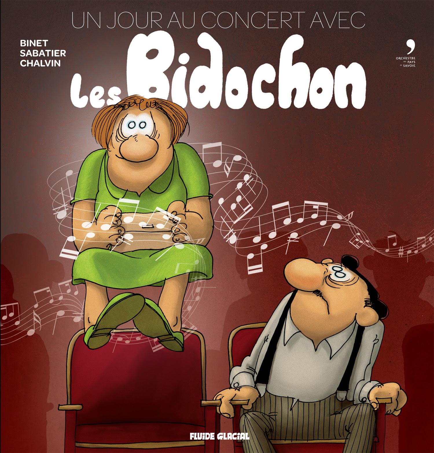 Un jour au concert avec les Bidochon, Orchestre des pays de Savoie. Au contact de la musique classique