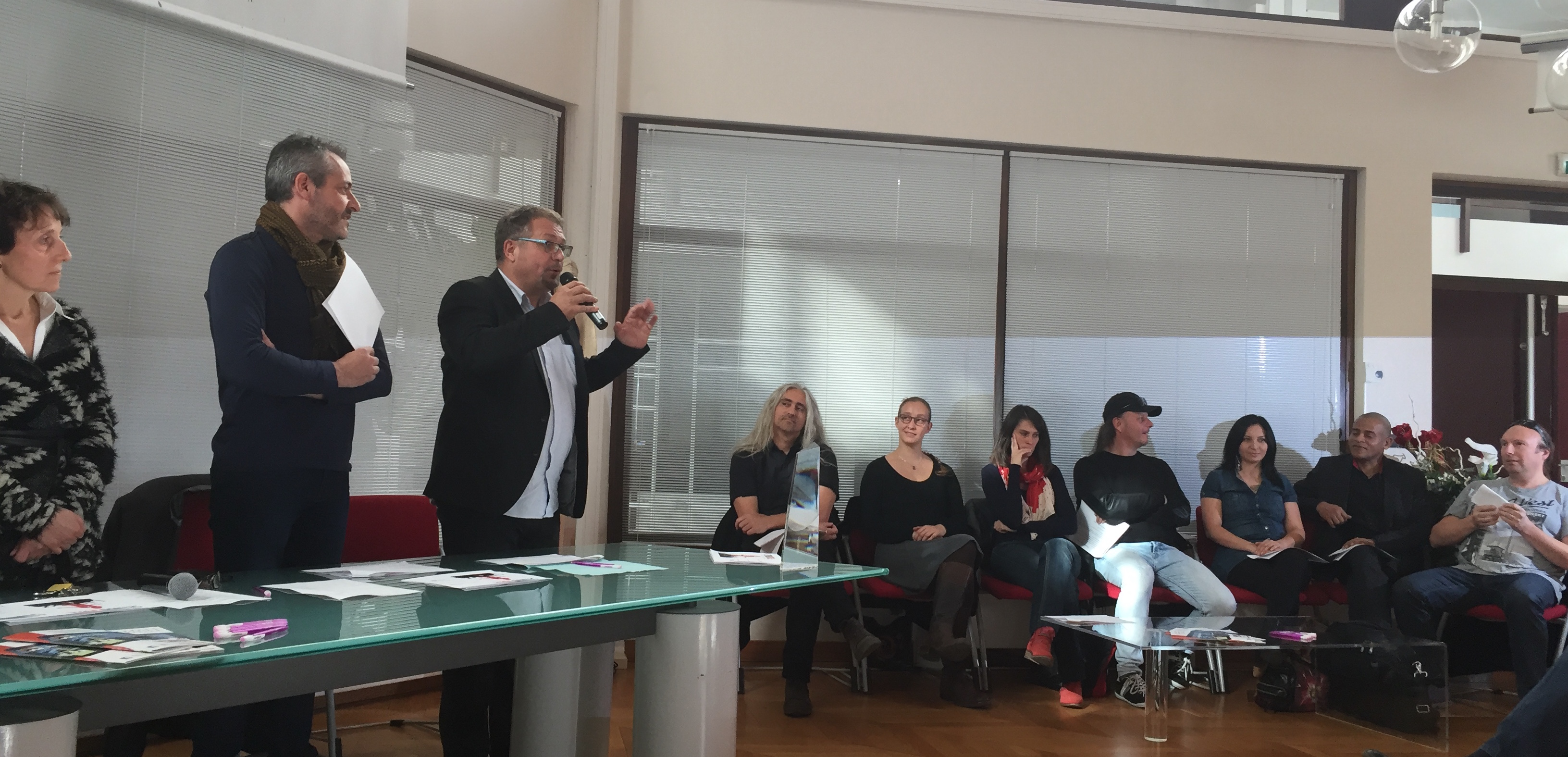 lancement officiel Seynod Voice 2016 - Pierre Tomasi au micro
