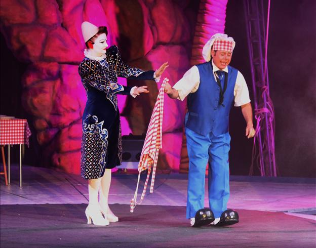 Les plus grands clowns du moment  Les Popeys Family / Copyright Le Grand Cirque Sur l'Eau