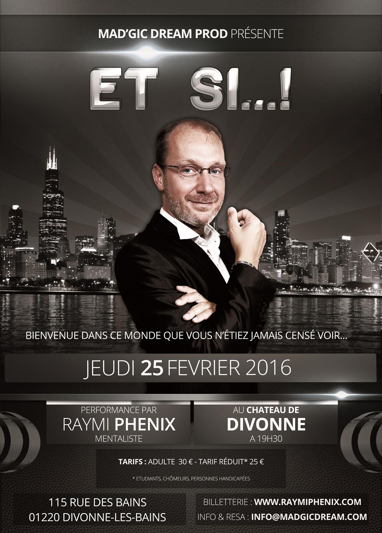 Rencontre avec RAYMI PHÉNIX, prochainement en représentation à Divonne