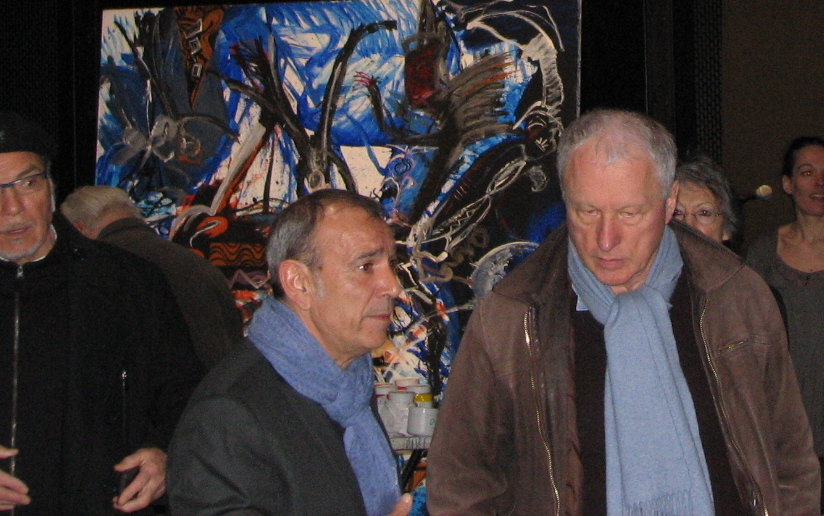 José Garcia et Valère Novarina - Copyright Paul Rassat