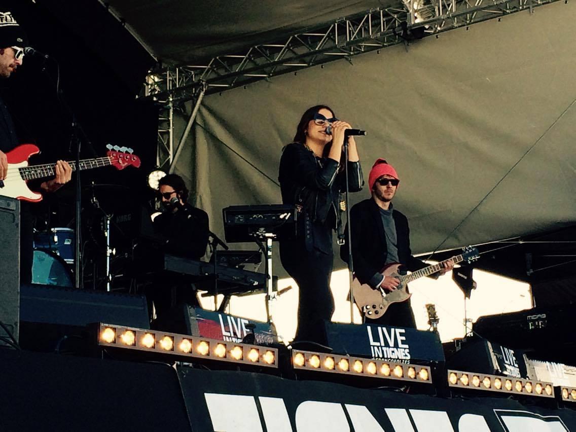 Mardi 12 Avril: Live in Tignes un vrai succès!